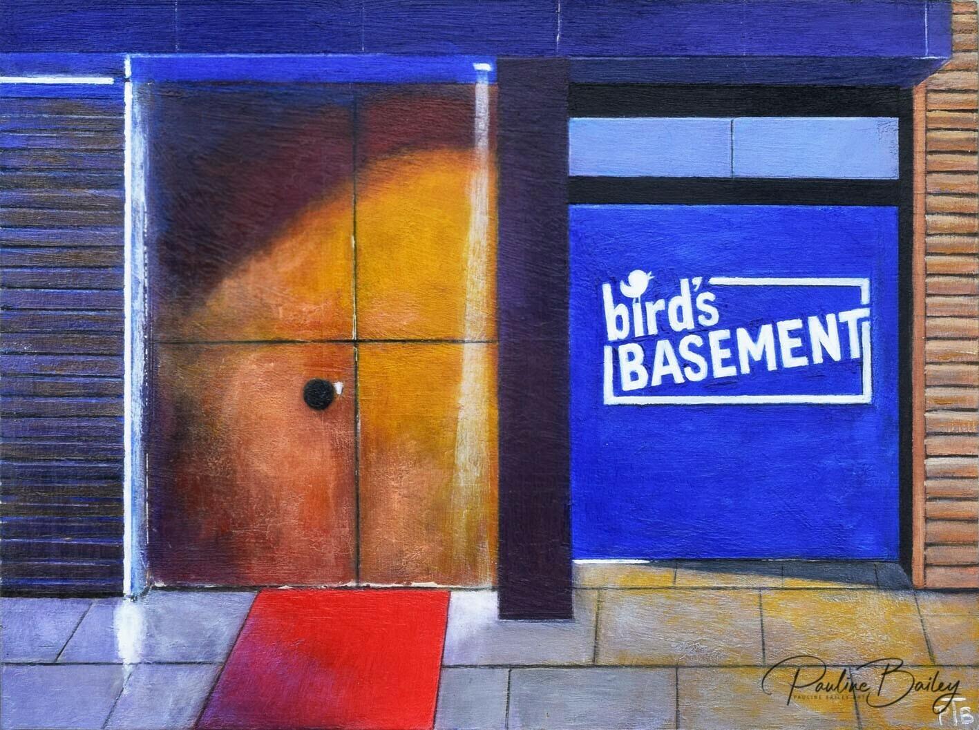 Original painting - Bird's Basement PM
