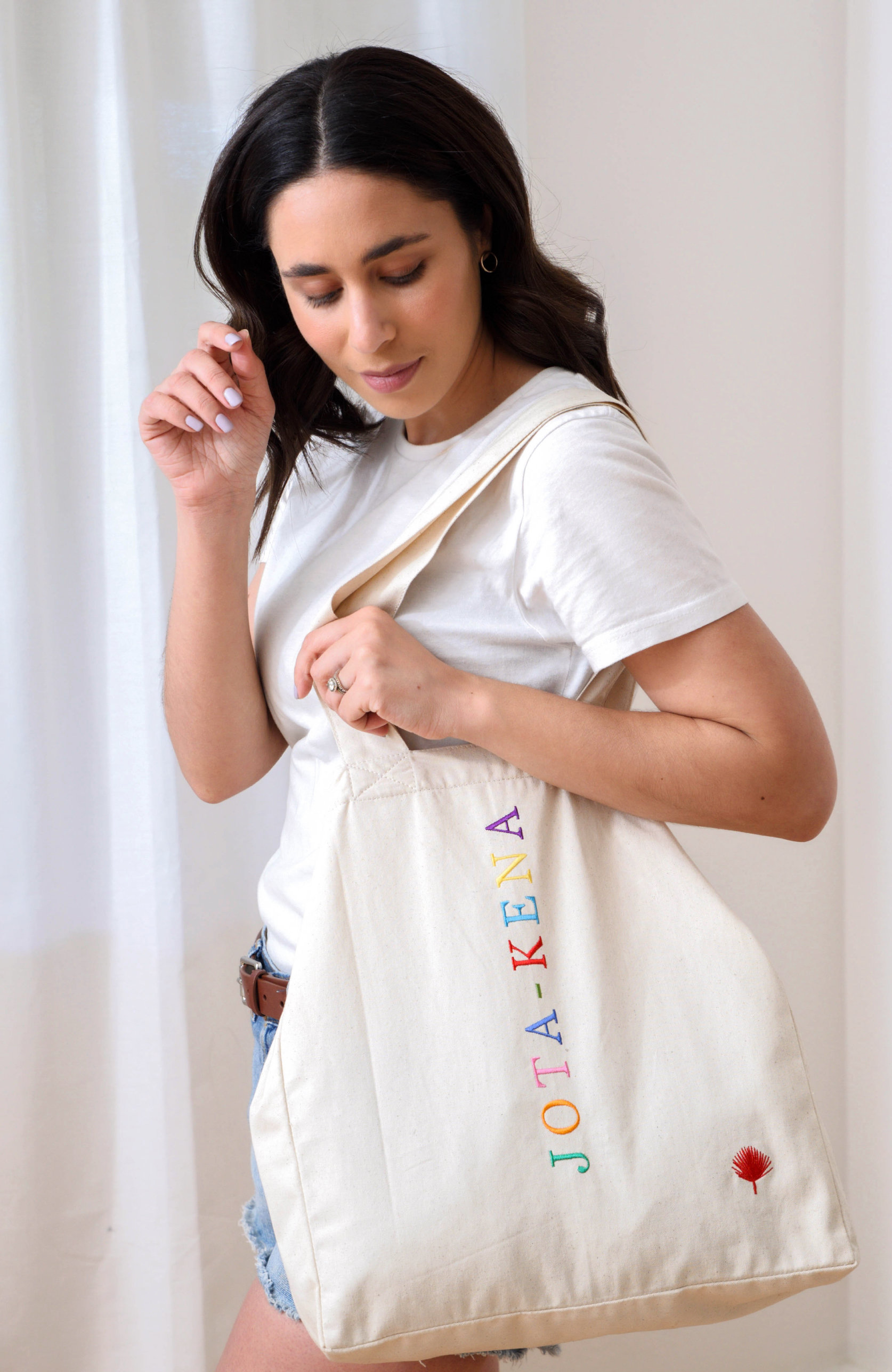 JOTA-KENA RAINBOW TOTE BAG