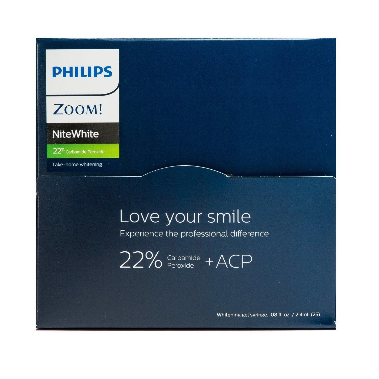 Philips Zoom! NiteWhite 22% Carbamide Peroxide 25 Syringe Bulk Kit