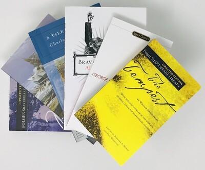 Junior Honors British Literature Book Bundle