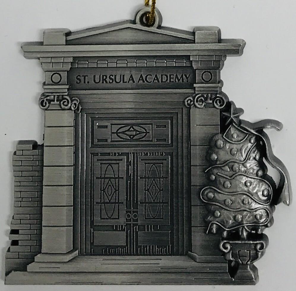 """Ornament - Chapel Doors - 3"""" x 3"""""""