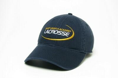 Hat - Navy - Lacrosse Swoosh