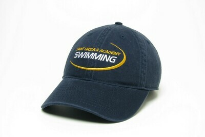 Hat - Navy - Swimming Swoosh