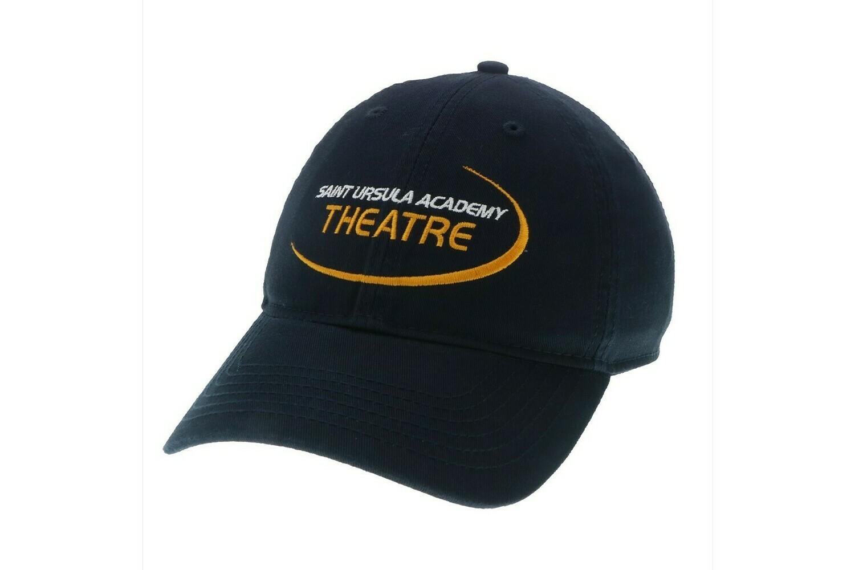 Hat - Navy - Theatre Swoosh