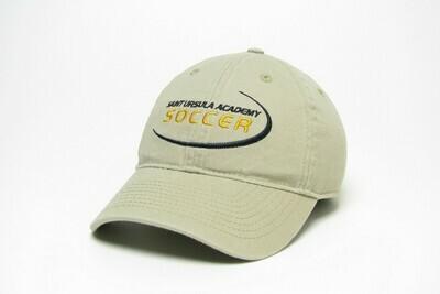 Hat - Khaki - Soccer Swoosh