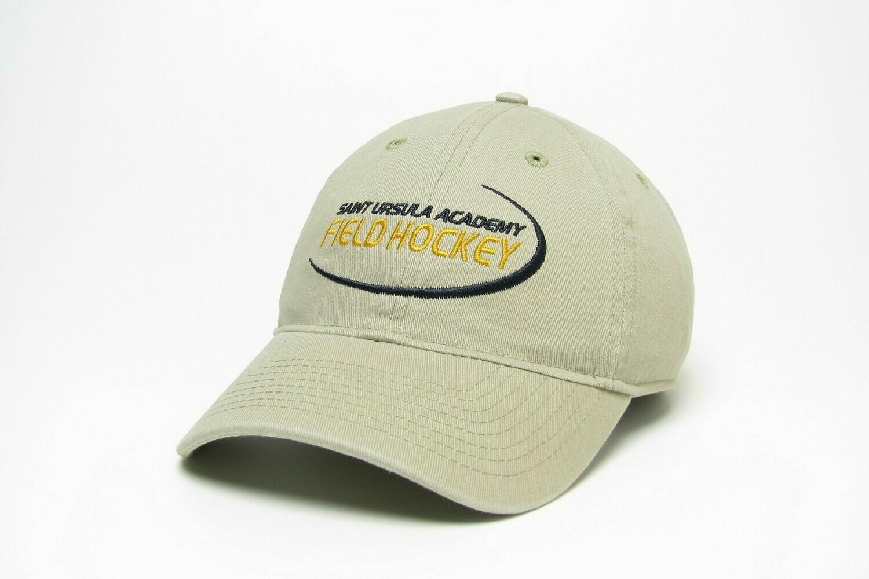 Hat - Khaki - Field Hockey Swoosh