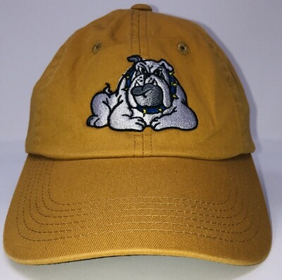 Hat - Gold - Bulldog