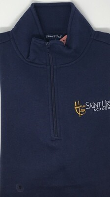 Quarter Zip - Navy - Crest