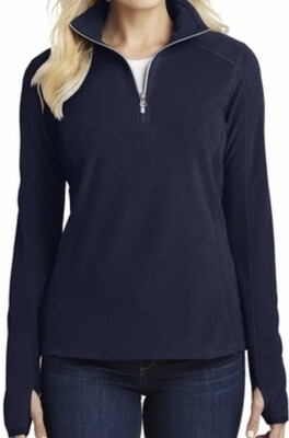Quarter Zip Polar Fleece - Ladies