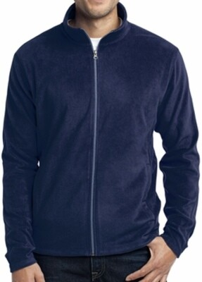 Full Zip Polar Fleece - Mens