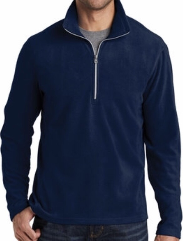 Quarter Zip Polar Fleece - Mens