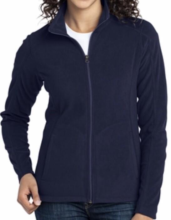 Full Zip Polar Fleece - Ladies