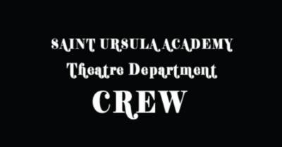 SUA Theatre Crew Sweatshirt