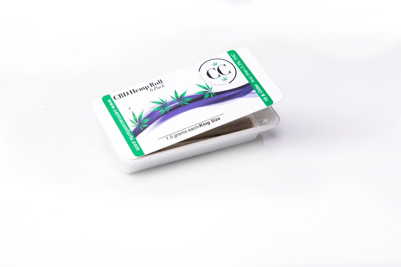Pre Rolled Hemp Flower - 6 Pack