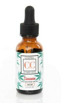Full Spectrum Cinnamon CBD Oil 500 mg