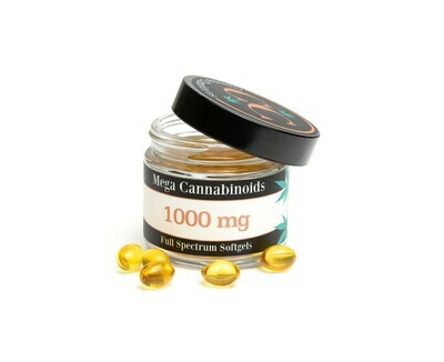 Full Spectrum Mega Cannabinoids Softgels