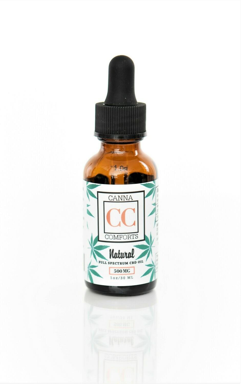 Full Spectrum CBD Oil 500 mg