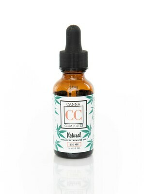 Full Spectrum CBD Oil 250 mg