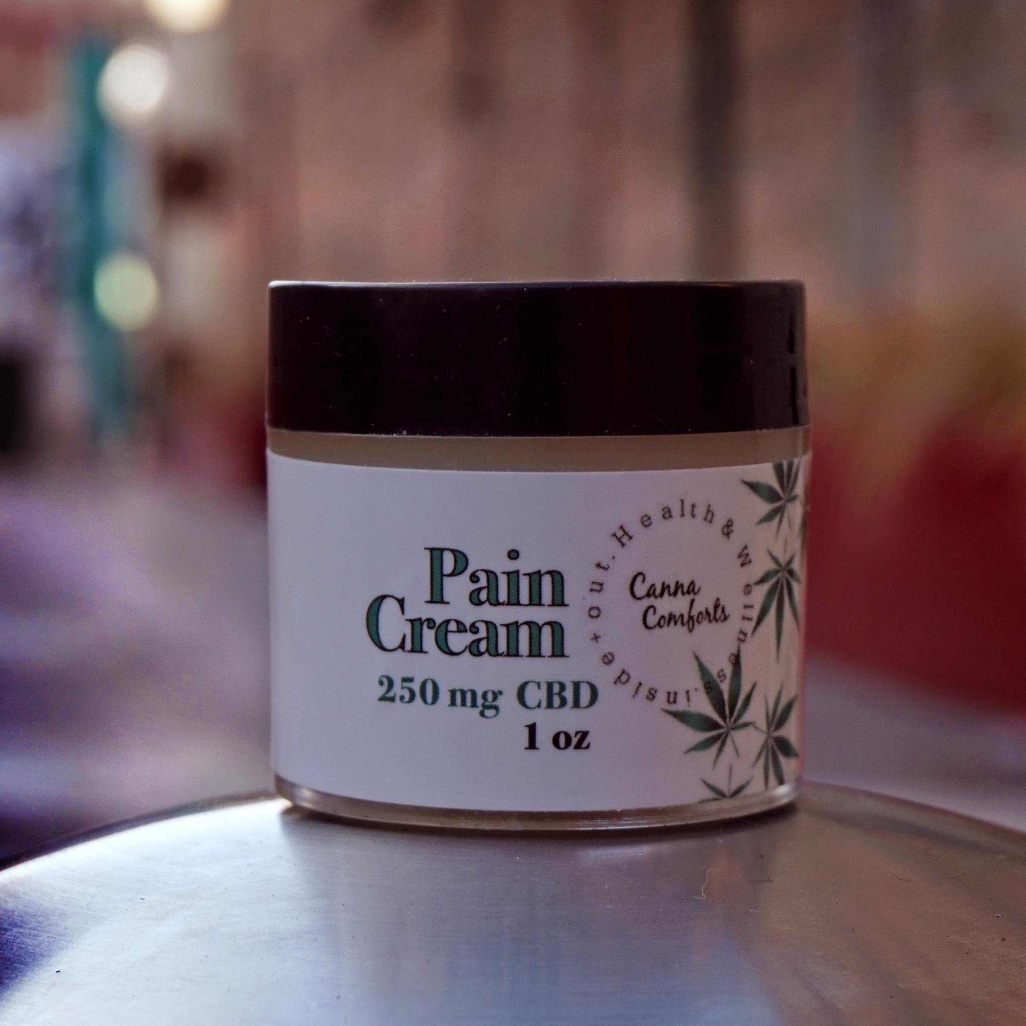 CBD Pain Cream- 3 Scents PC-000-0000-001