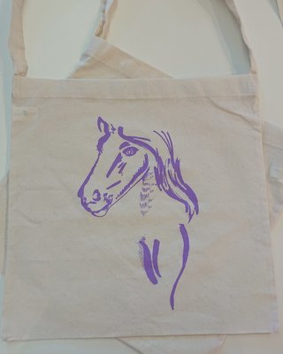 Show Ponies Tote - Purple Pony