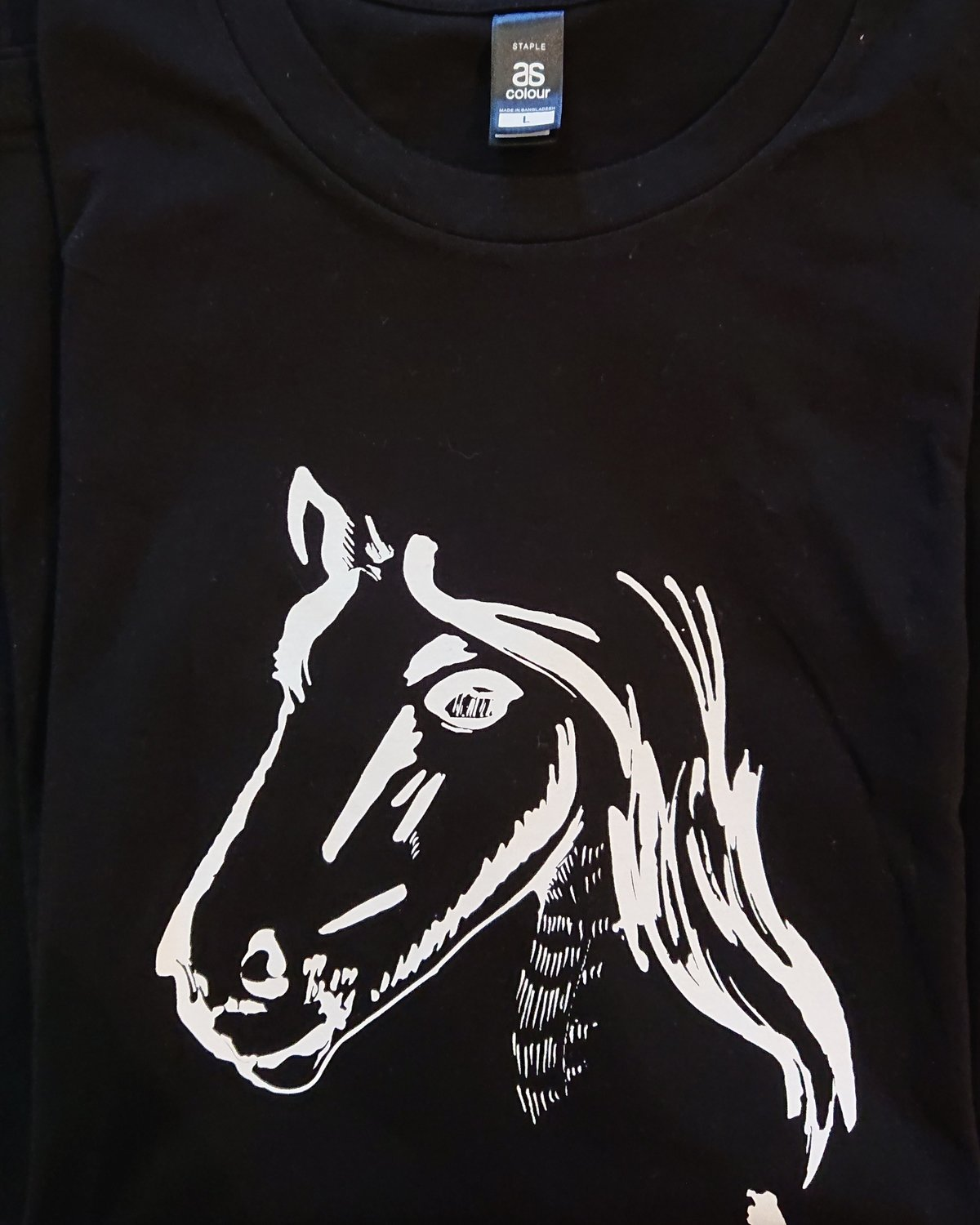 Show Ponies T-shirt - Black and White - Small