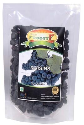 FLUXYFROOTTR BLACK KISMIS | PREMIUM CHEWY | BLACK RAISIN Raisins  (250 g, Pouch)