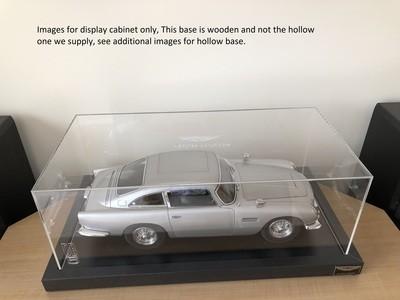 Aston Martin DB5 Display Base & Cabinet