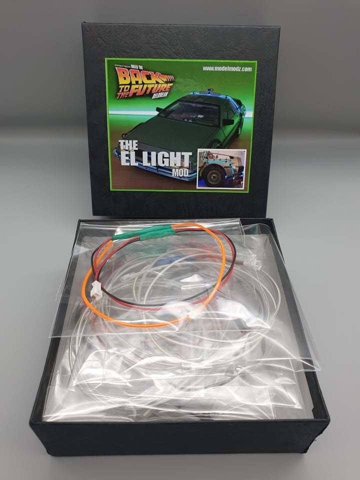 The EL wire Mod Kit (wait times for this item)