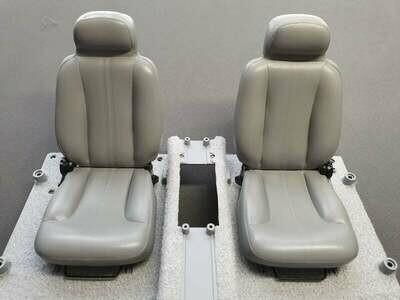 DeLorean 1:8 Scale Replacement Seats