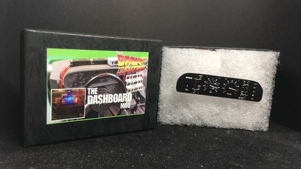 Delorean 1:8 scale dashboard mod