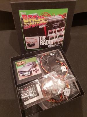 Delorean 1:8 Scale Radio Mod