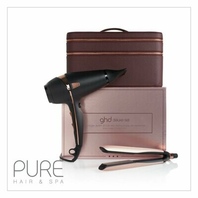 ghd Platinum+ & Air Limited Edition Royal Dynasty Deluxe Set