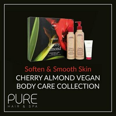 Aveda Cherry Almond Body Care Gift Set.