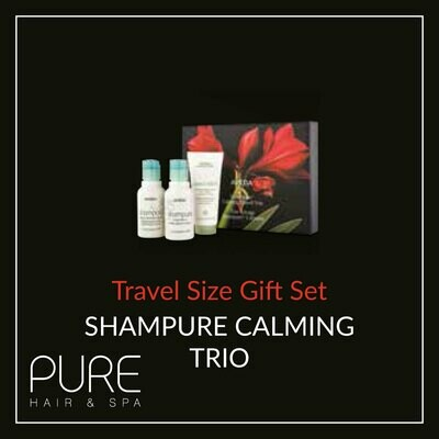 Aveda Calming Travel Trio Gift Set.