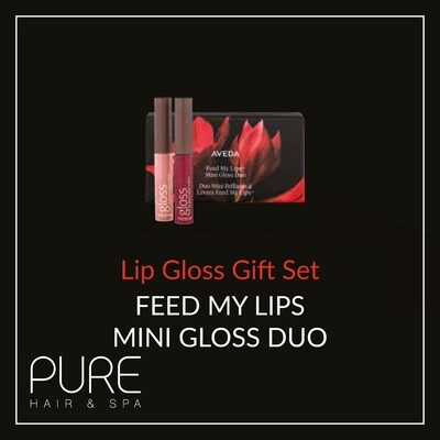 Aveda Feed My Lips Gloss Duo Gift Set.