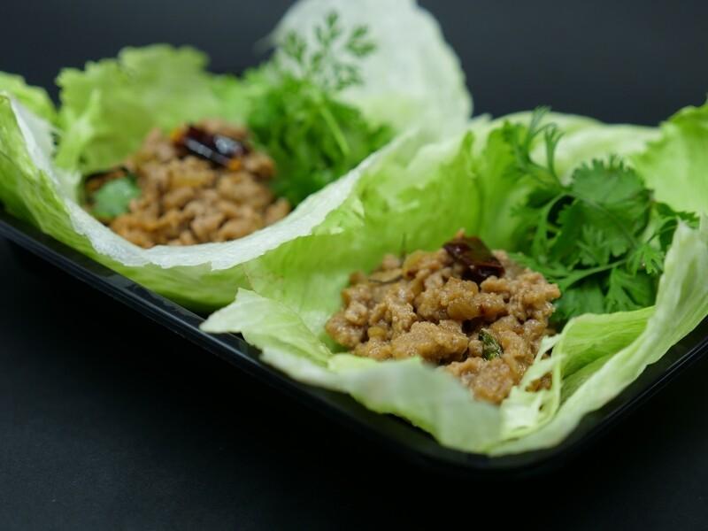 Thai Basil Keto Tacos (Pad Gaprao)