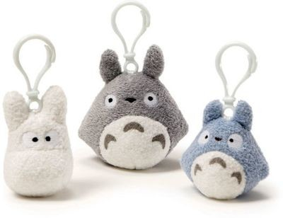 Totoro Backpack Clips