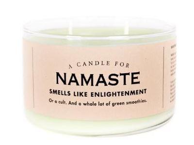 Namaste Candle
