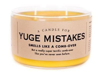 Yuge Mistakes Candle