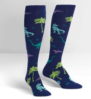 Land Of The Dinos Knee High Socks