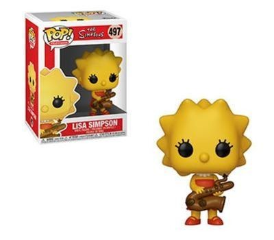Lisa Simpson Saxophone Pop