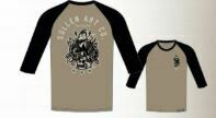 Liberty Raglan Lead Grey / Black