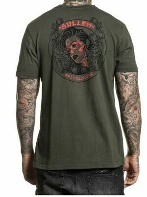 In Bloom Tee Military Green