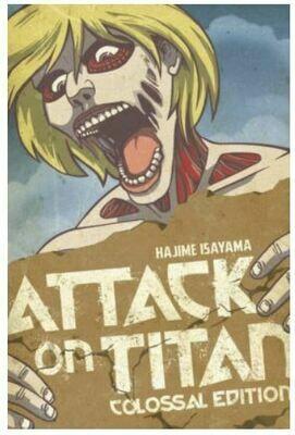 Attack On Titan Colossal Edition Volume 2