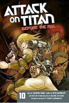 Attack On Titan Before The Fall Volume 10