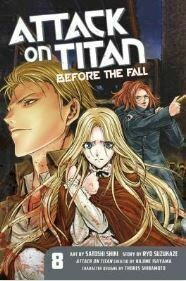 Attack On Titan Before The Fall Volume 8