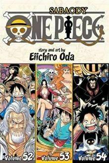 Sabaody One Piece Volume 52,53,54