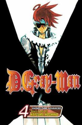 D.Gray-Man Volume 4,5,6