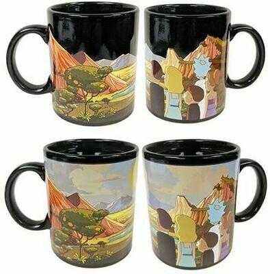Rick And Morty Heat Change Mug