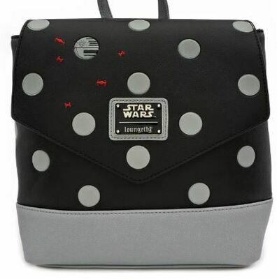 Star Wars Polka Death Star Dot Mini PU Backpack
